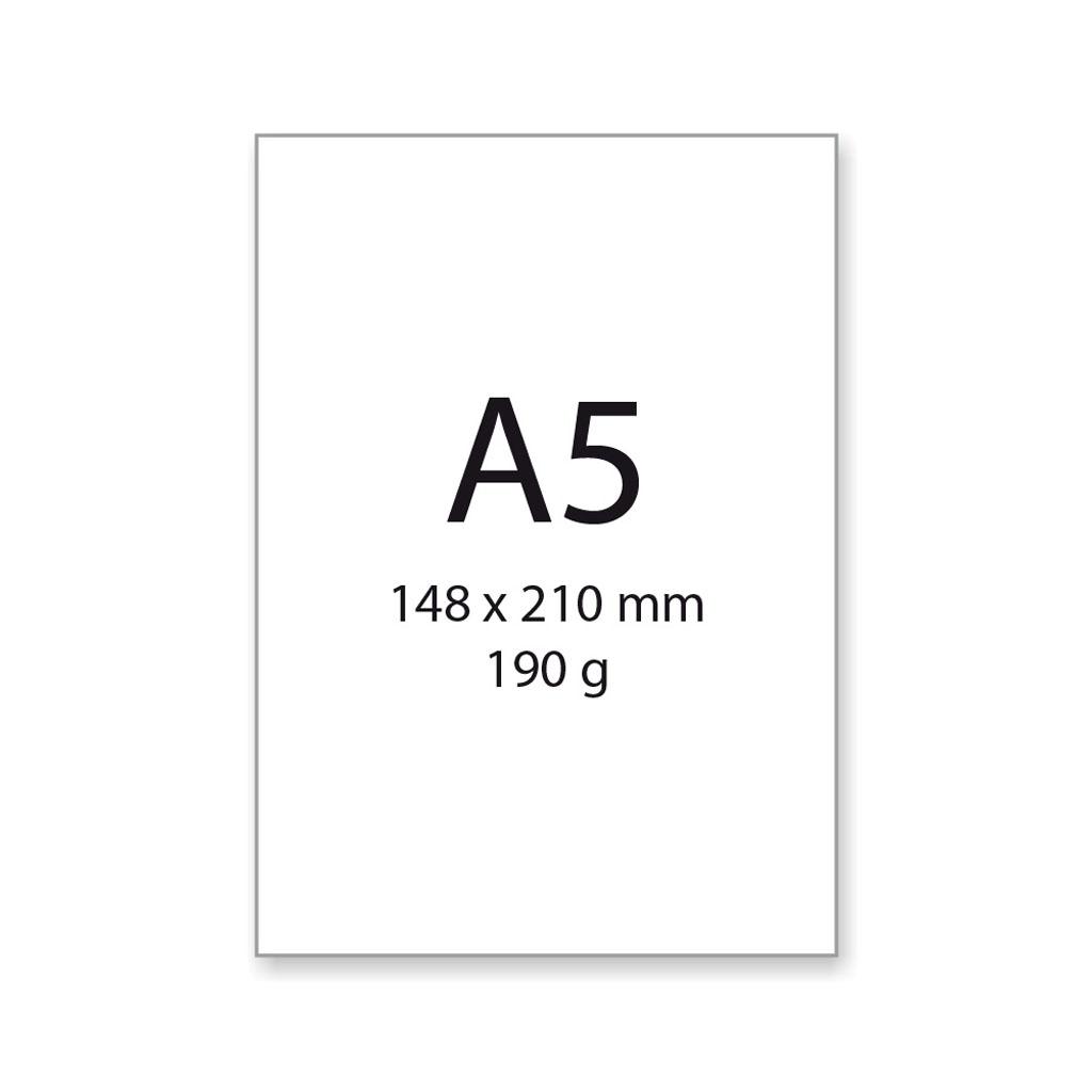Výkres na kreslenie a rysovanie, A5, 190 g/20 ks