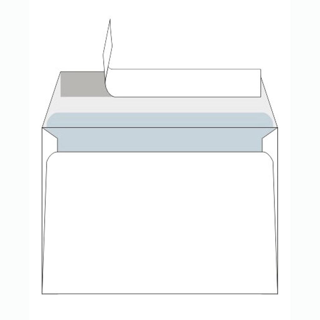 Obálky C6 s odtrhávacou páskou / 100 ks