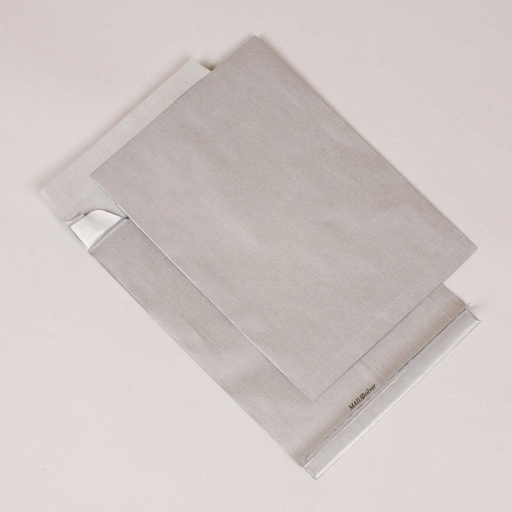 Tašky B4 s odtrhávacou páskou Mailsilver s X dnom / 10 ks