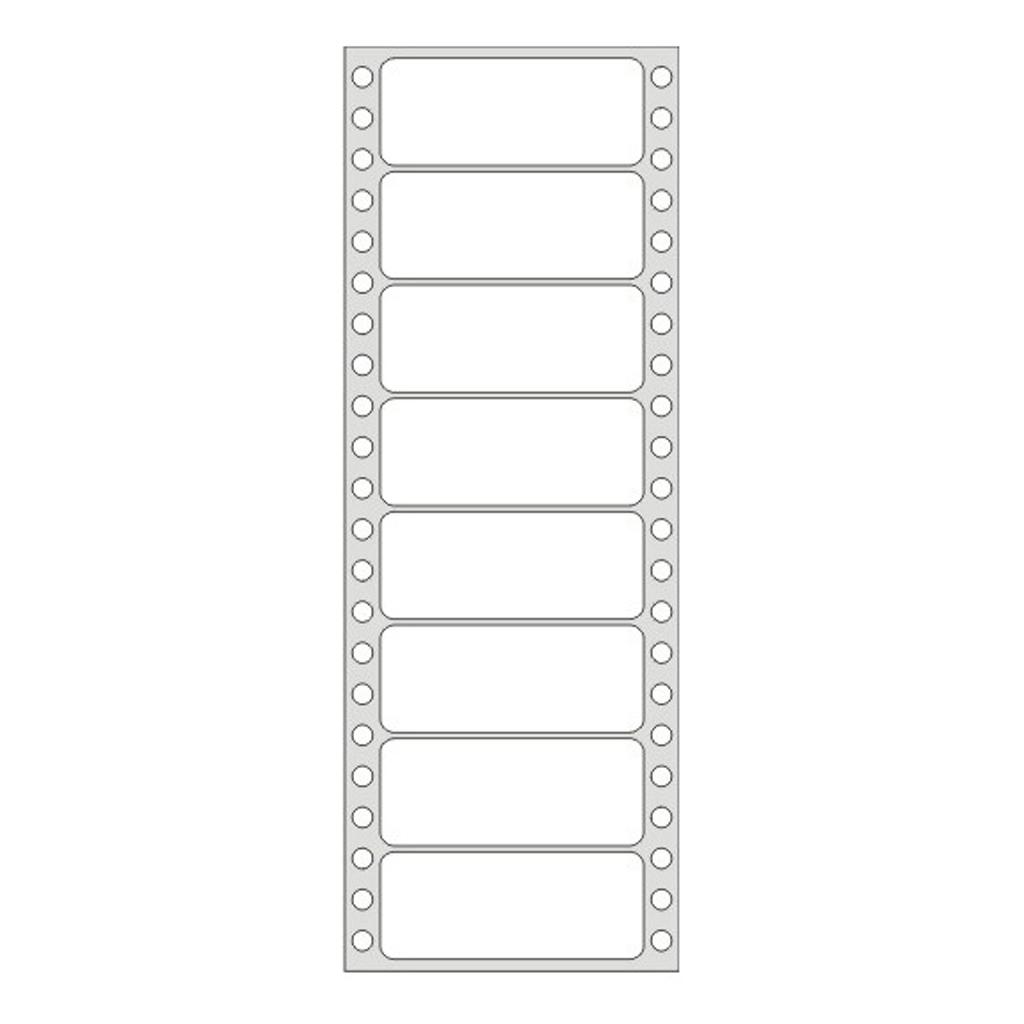 Etikety tabelačné 89 x 36,1mm / 1-radove - (25 hár)