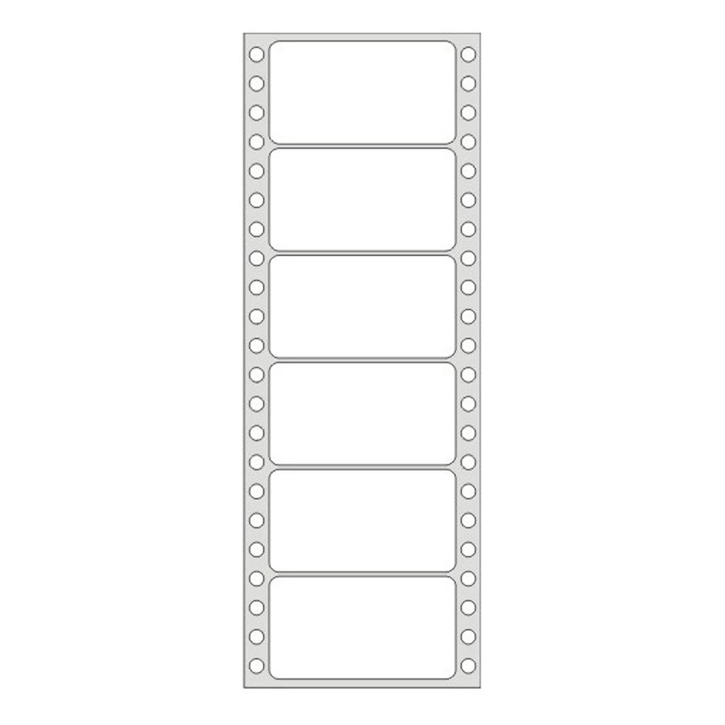 Etikety tabelačné 89 x 48,8 mm / 1-radové - (25 hár)