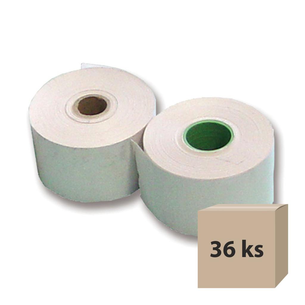 Pásky papierové do pokladní 80/80/12 termo, 36 ks