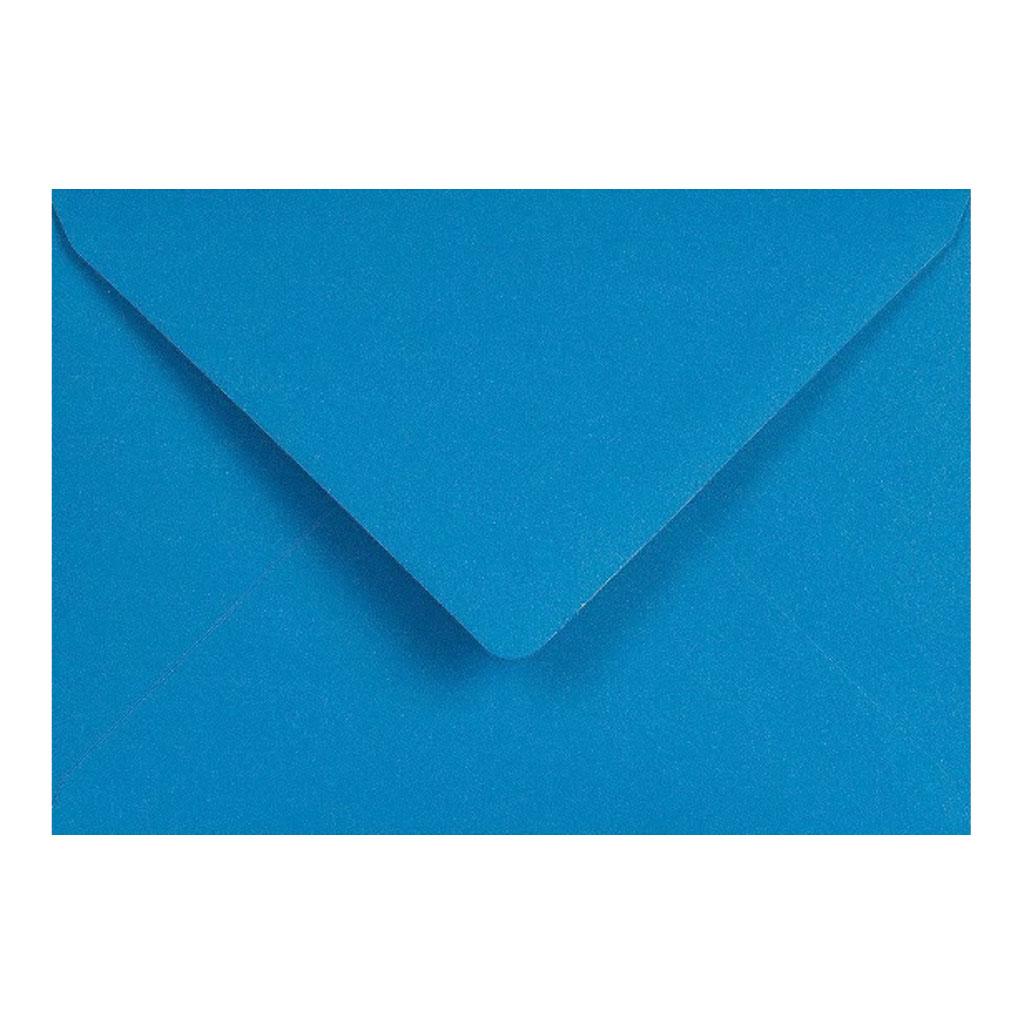 Obálky C6 obyčajné / 5 ks - modrá