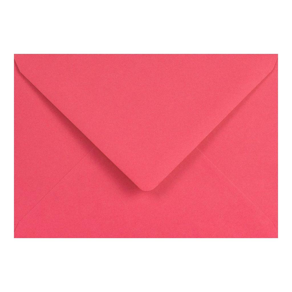 Obálky C6 obyčajné / 5 ks - ružová