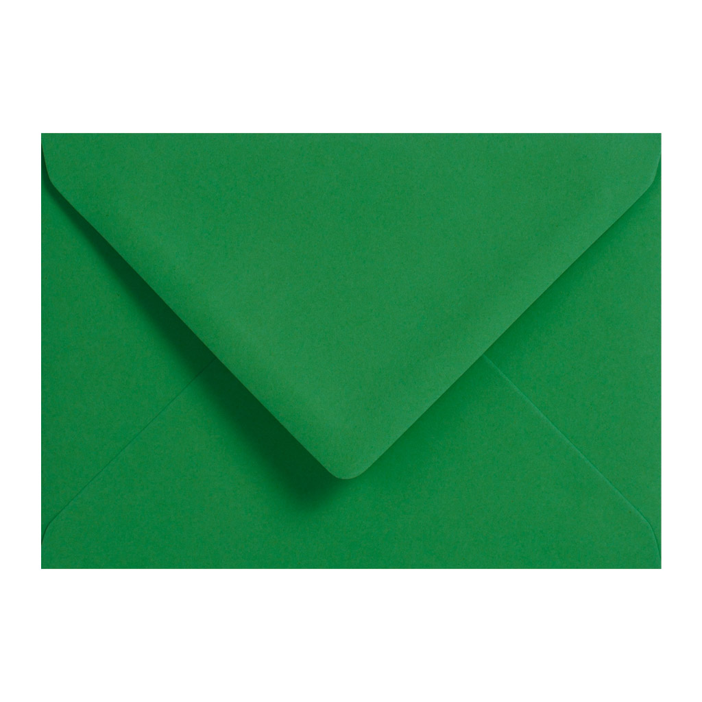 Obálky C6 obyčajné / 5 ks - vianočná zelená