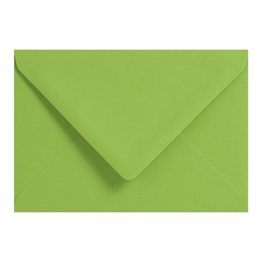 Obálky C6 obyčajné / 5 ks - zelená