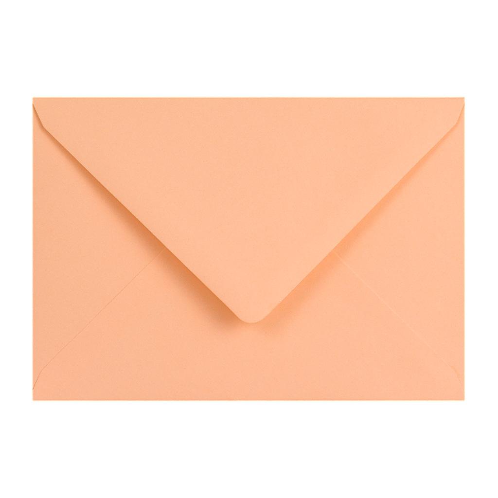 Obálky C6 obyčajné / 5 ks - lososová