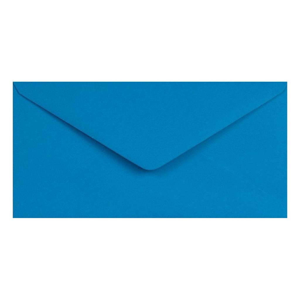 Obálky DL obyčajné / 5 ks - modrá