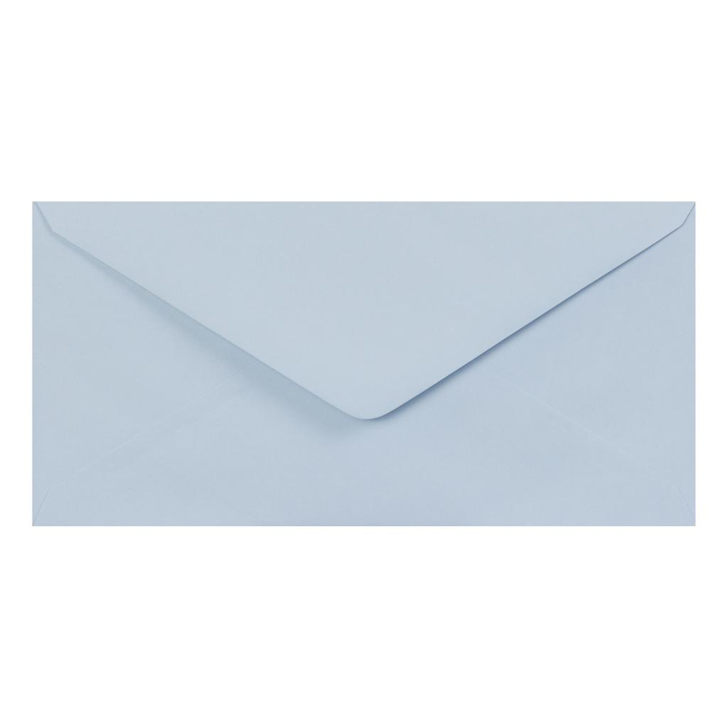 Obálky DL obyčajné / 5 ks - svetlomodrá