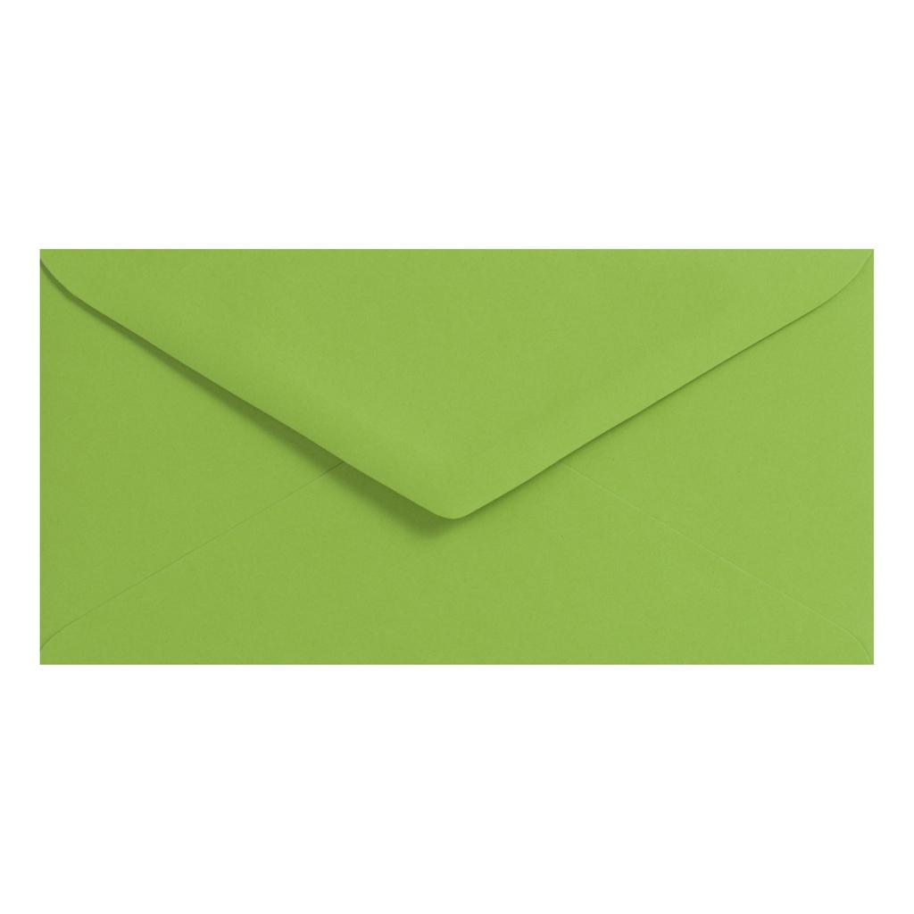 Obálky DL obyčajné / 5 ks - zelená