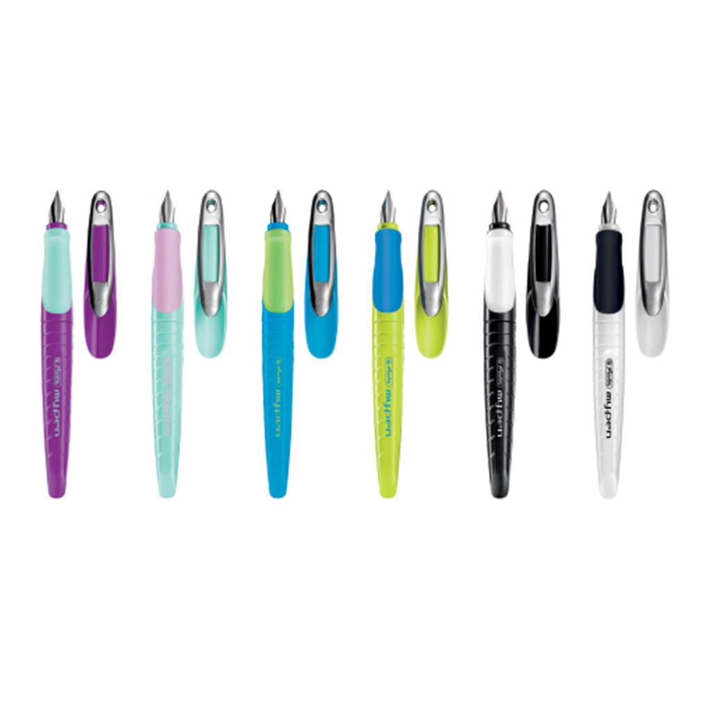 Pero plniace my.pen, pre ľavákov - mix farieb L