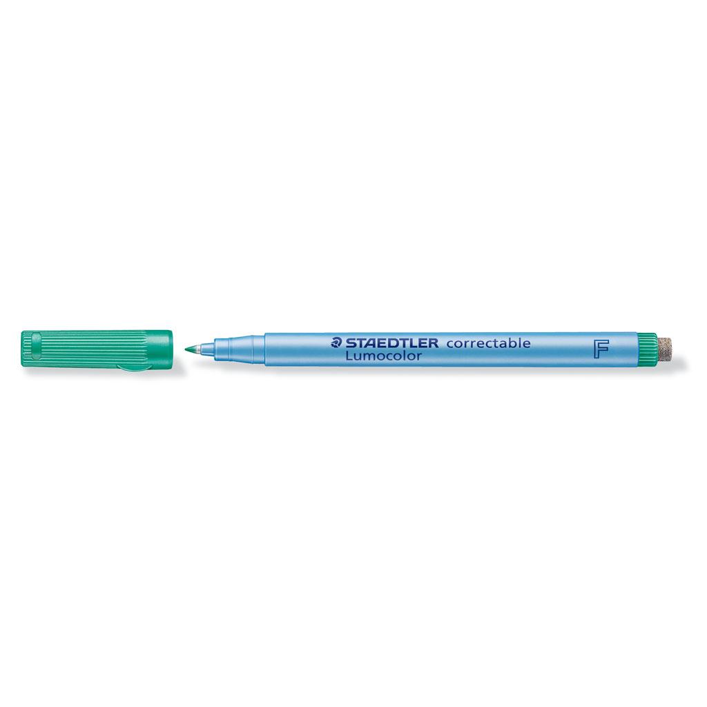 Staedtler Popisovač non-permanent so stierkou 305F-5, hrot 0,6 mm, zelený