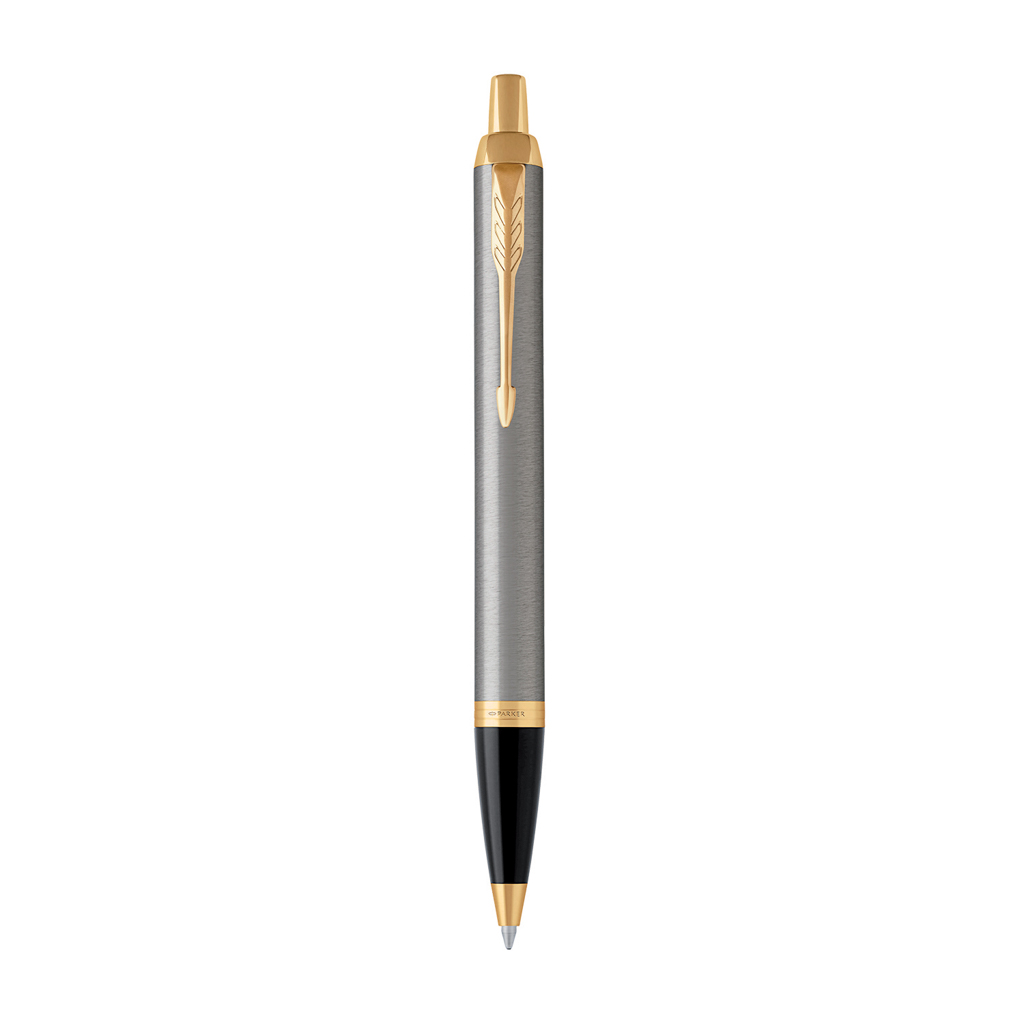PARKER ROYAL - IM Brushed Metal GT - sada GP + zápisník