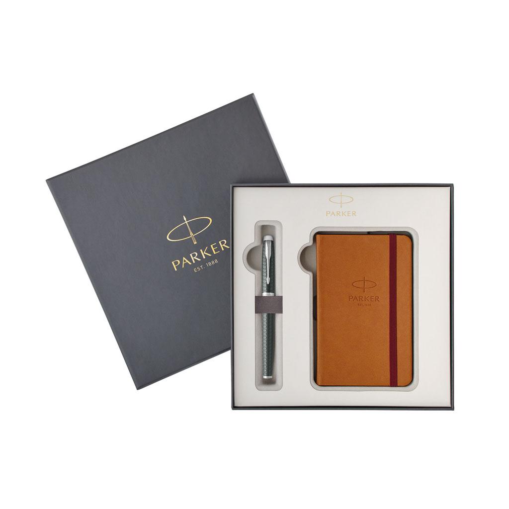 PARKER ROYAL - IM Premium Pale Green CT - sada R + zápisník