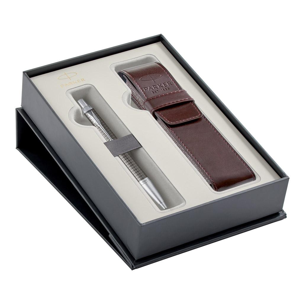 PARKER ROYAL - IM Premium Dark Espresso CT - sada GP + puzdro
