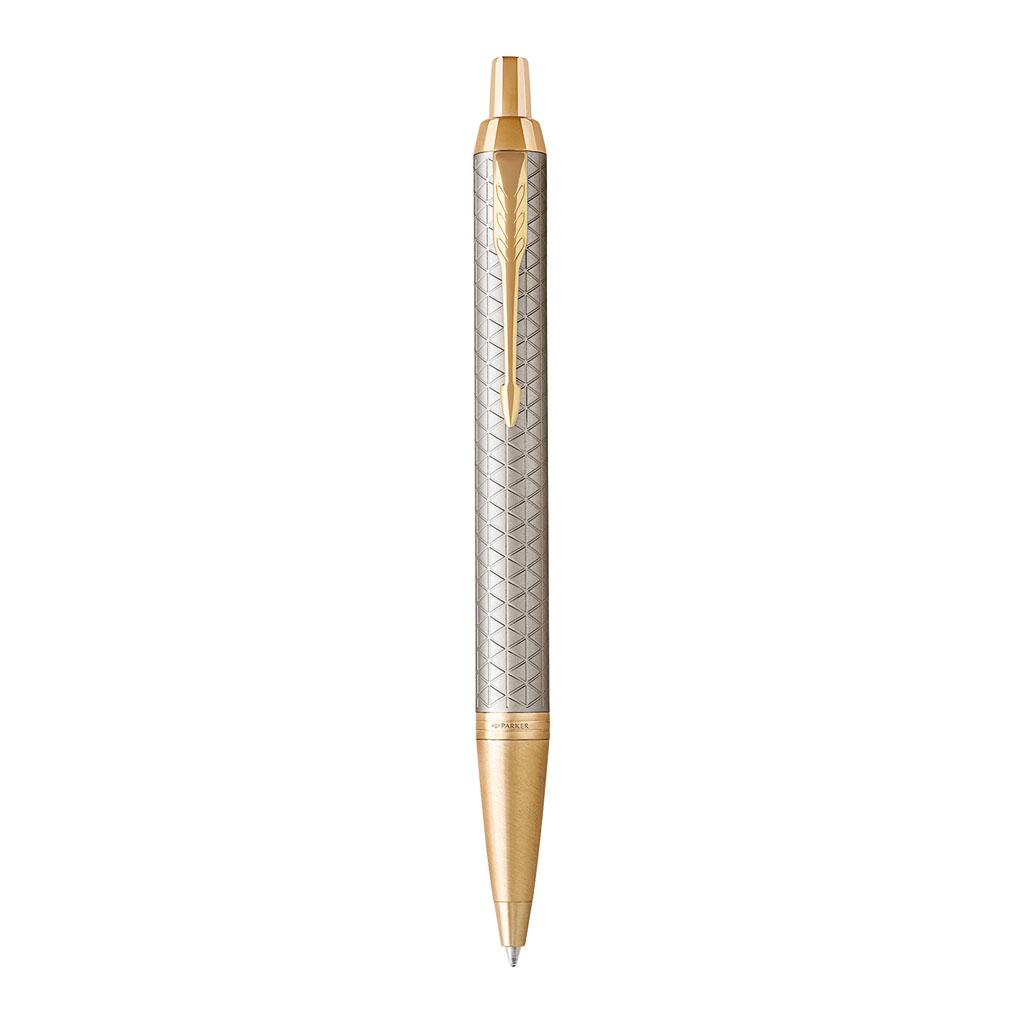 PARKER ROYAL - IM Premium Warm Grey GT - sada GP + puzdro