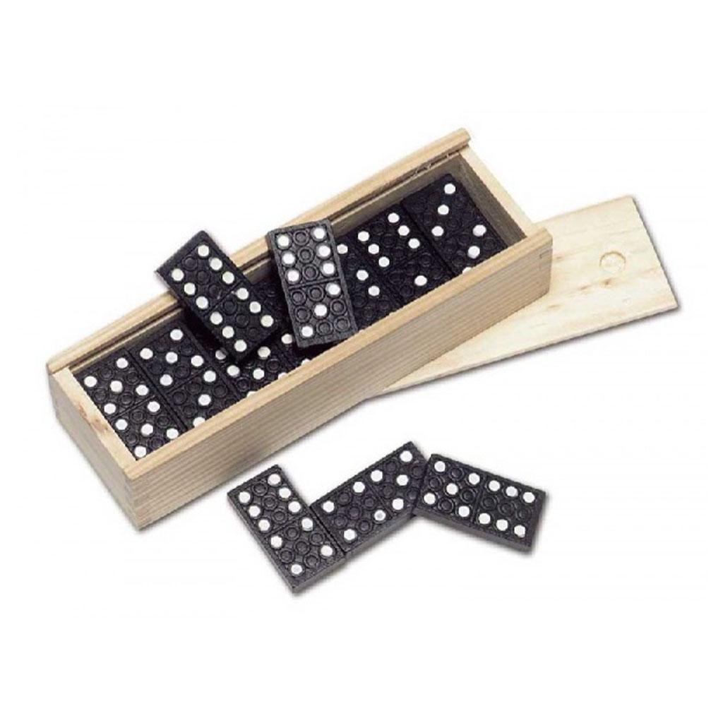 Domino v drevenej krabičke 15 x 5,1 x 3,2cm