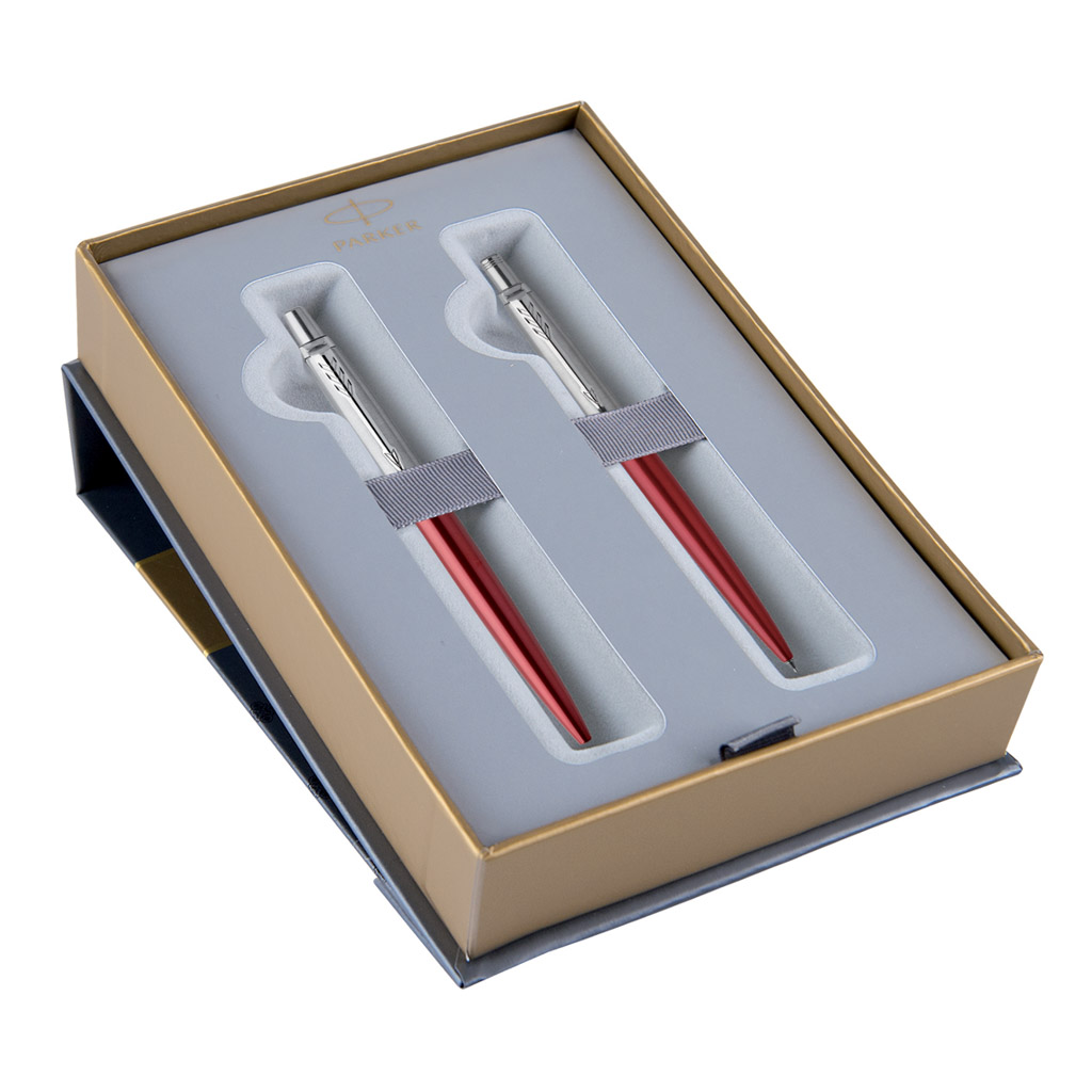 PARKER ROYAL - JOTTER Kensington Red CT - sada GP + MC