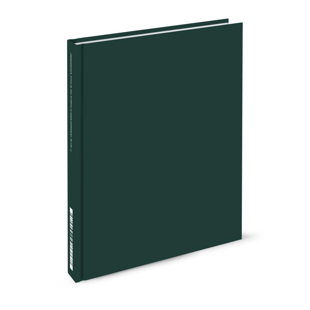 Záznamová kniha A5 linajková,  96 l. zelená