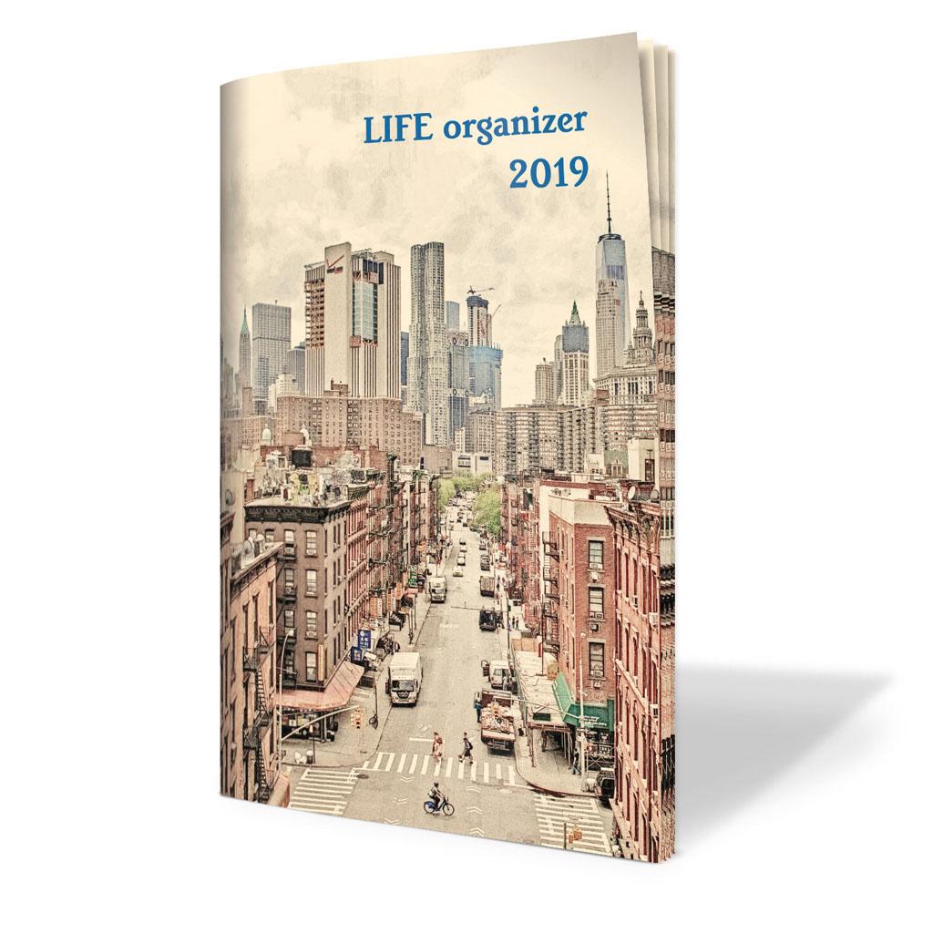 Life organizér 2019 - Manhattan