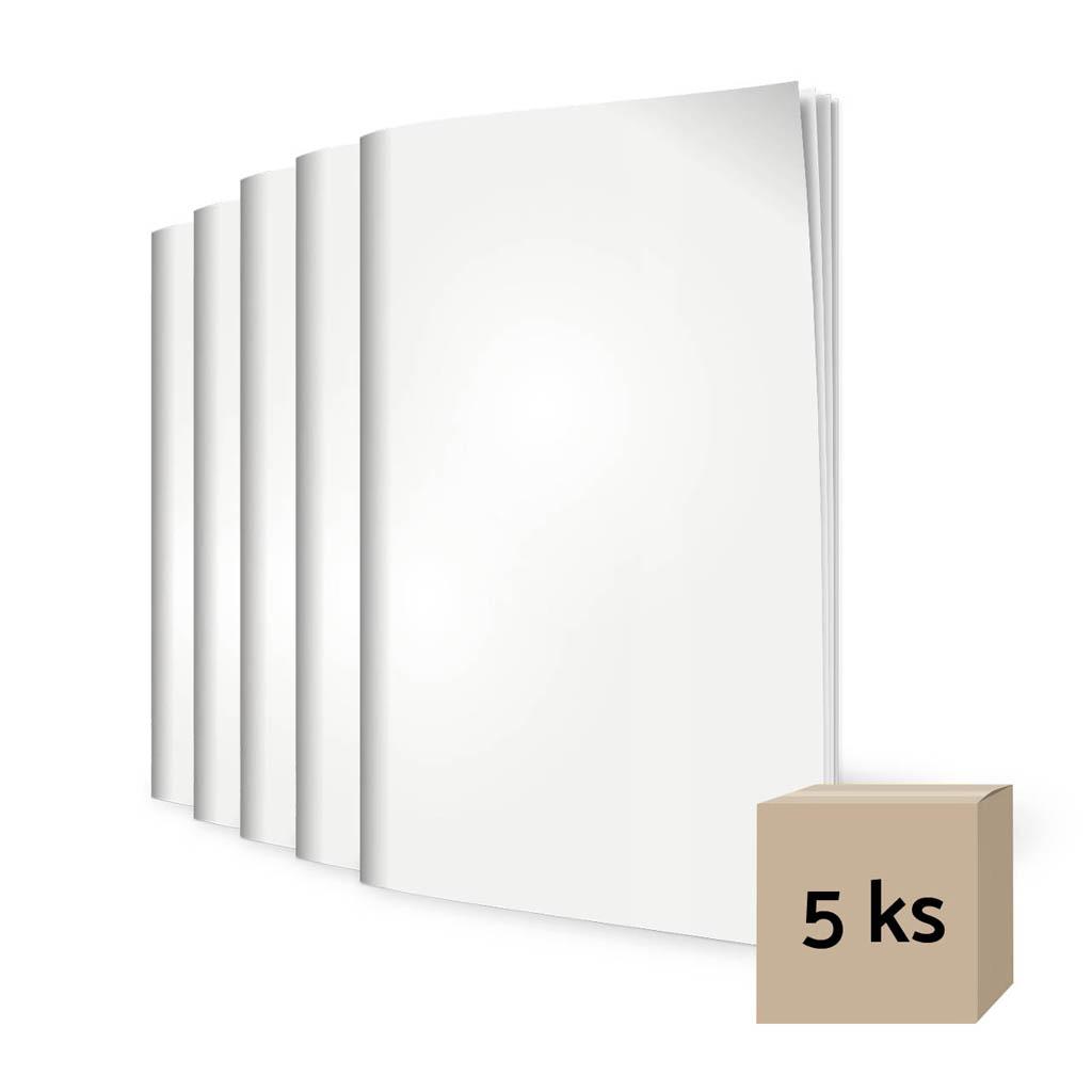Zošit 444, A4 linajkový (8 mm), 40 l. - bianco/ 5 ks