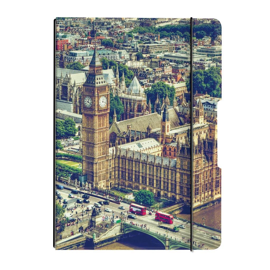 Obal s gumičkou A4 + 2x náplň - Londýn