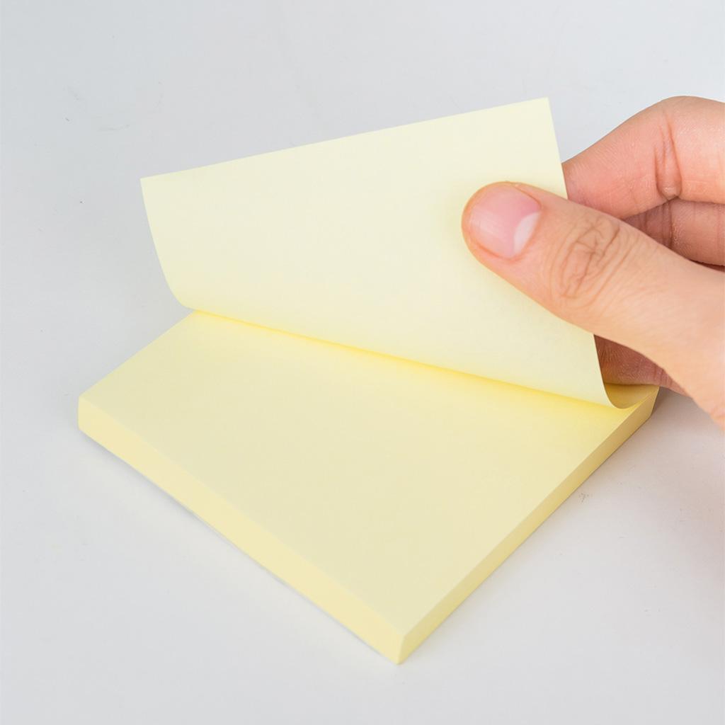 Deli Samolepiace bločky 76x76mm, 100 listov - mix pastelových farieb