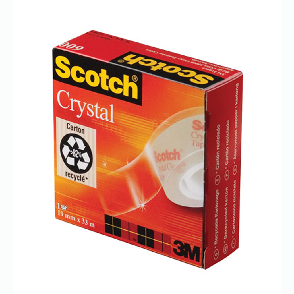 3M Scotch Crystal lepiaca páska, 19mm x 33m