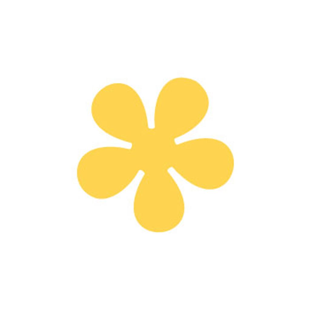 """Dekoračný dierovač 2,5 cm, """"kvet"""""""