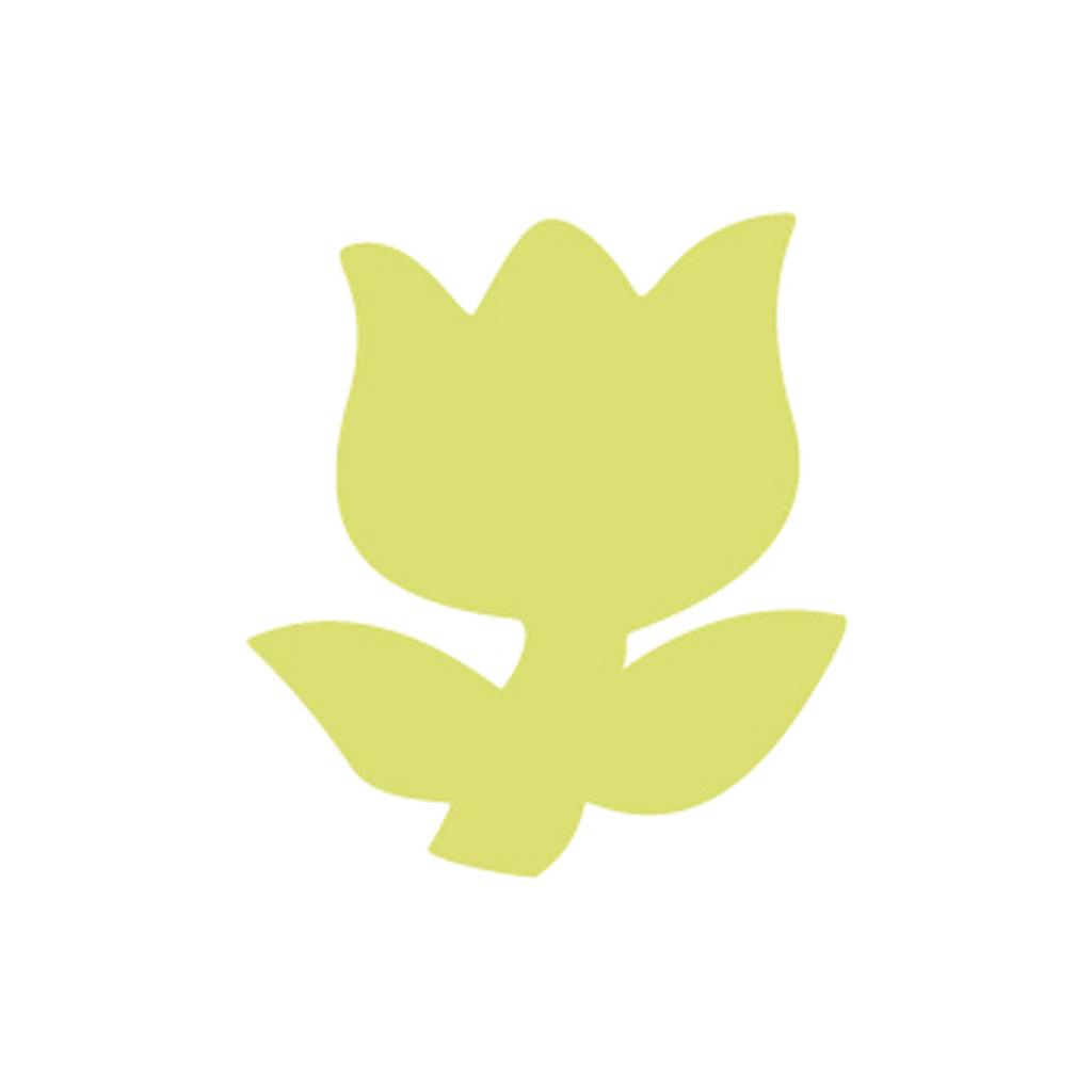 """Dekoračný dierovač 5 cm, """"tulipán"""""""