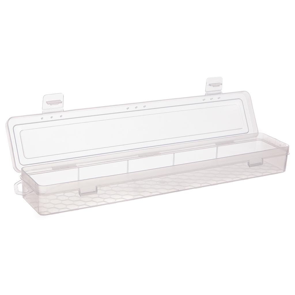 Plastový box 34,5 x 6,5 cm, transparentný