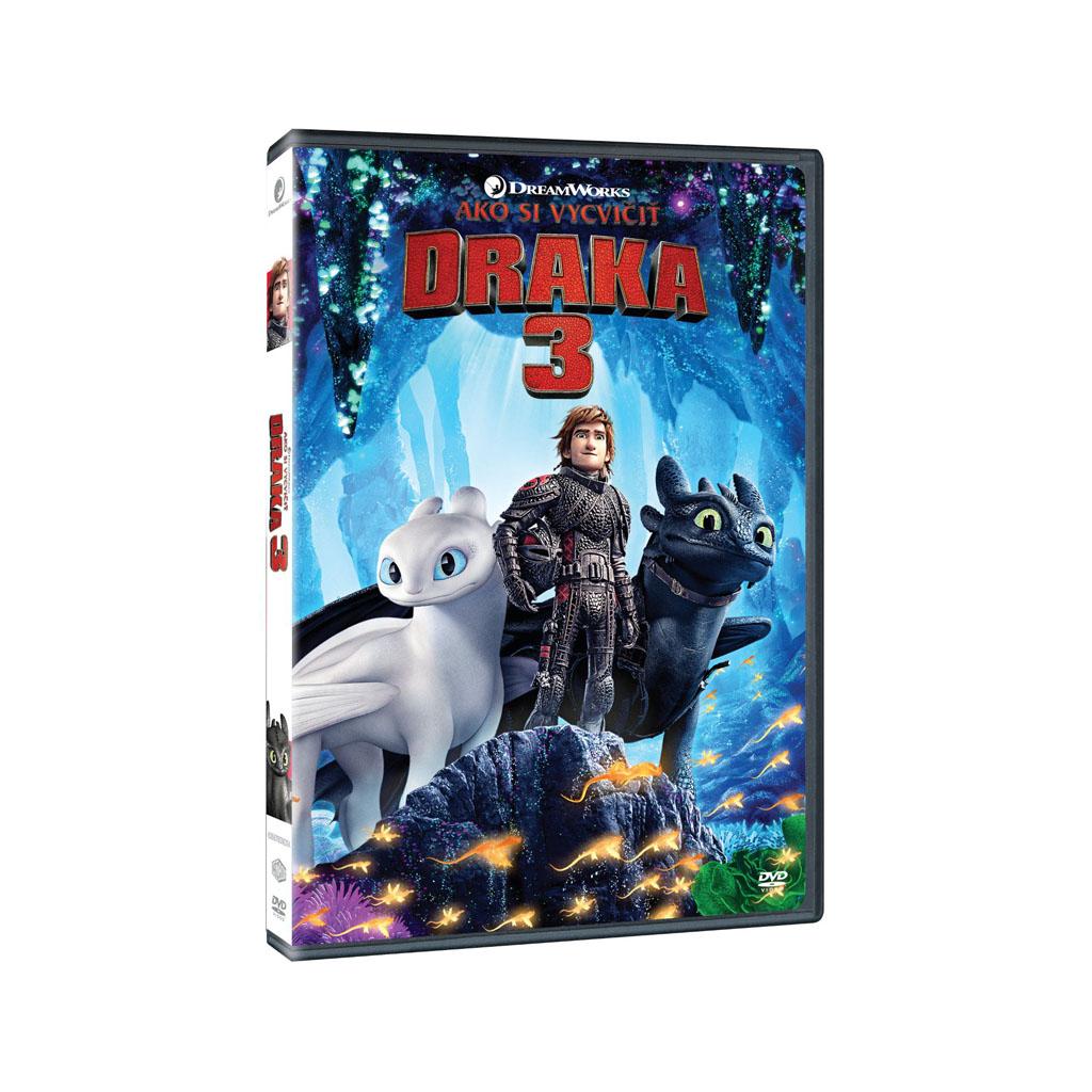 DVD rozprávka - Ako si vycvičiť draka 3 (SK)