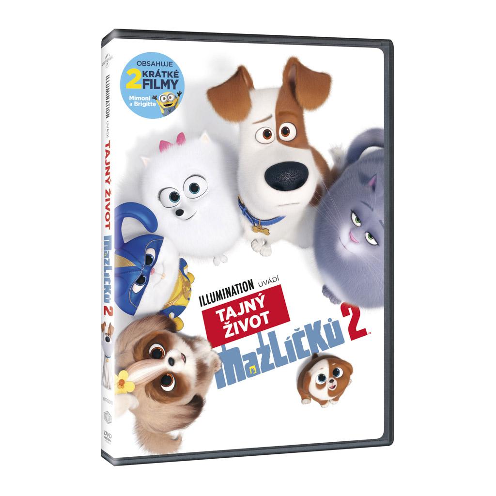 DVD rozprávka - Tajný život maznáčikov 2 (SK)