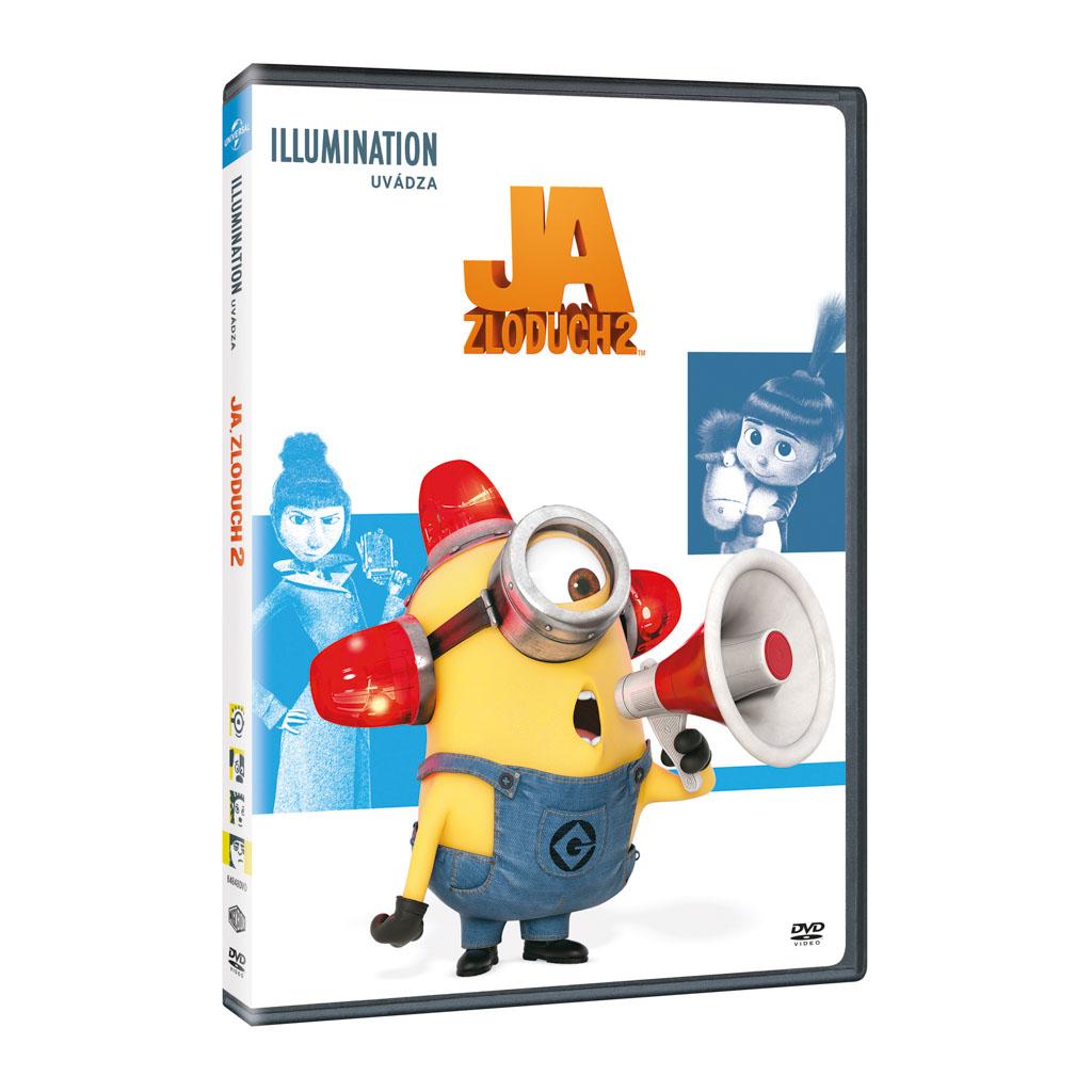 DVD rozprávka - Ja, zloduch 2 DVD - Illumination edice (SK)
