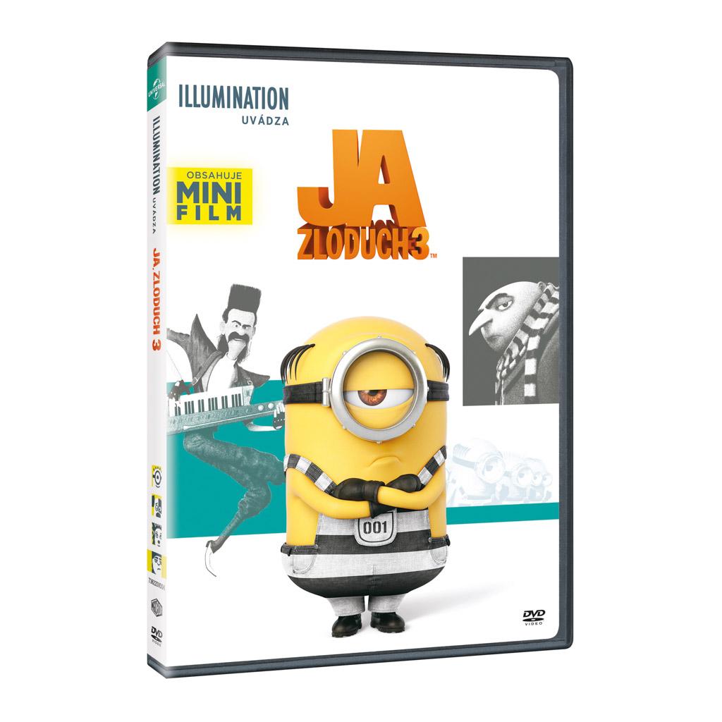 DVD rozprávka - Ja, zloduch 3 DVD - Illumination edice (SK)