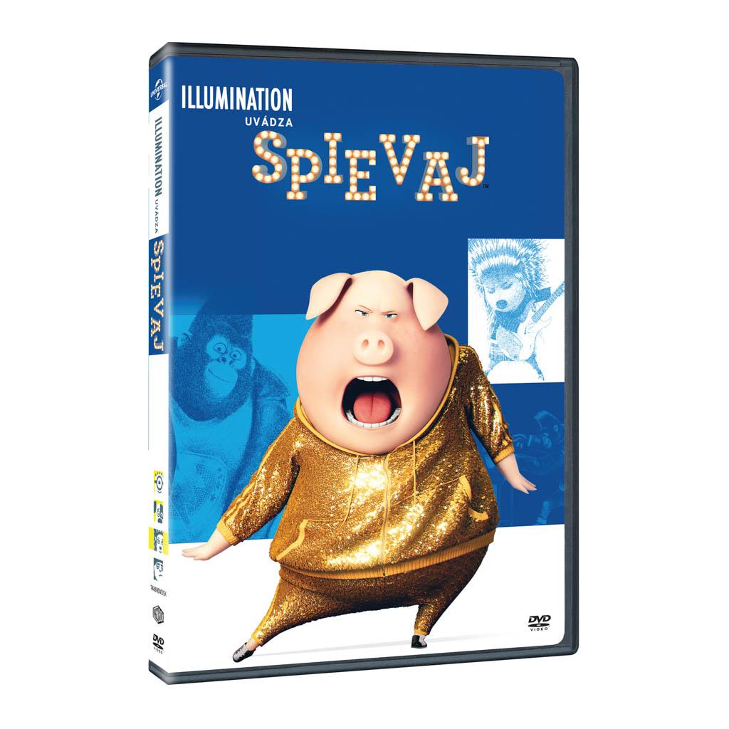 DVD rozprávka - Spievaj DVD - Illumination edice (SK)