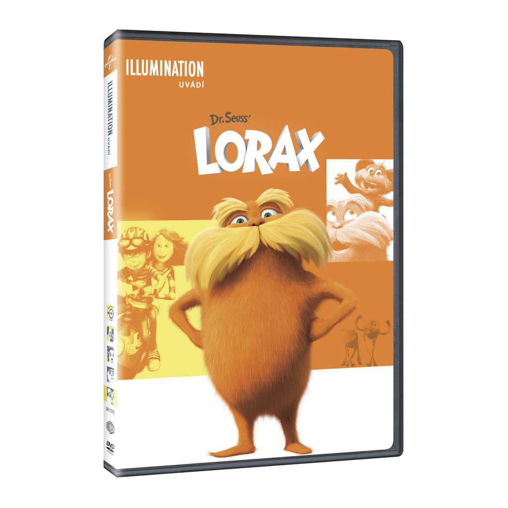DVD rozprávka - Lorax DVD - Illumination edice