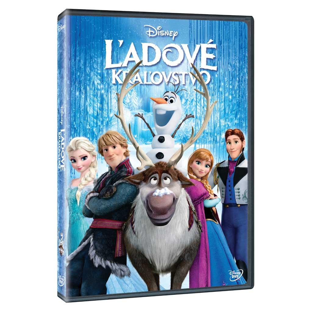 DVD rozprávka - Ľadové královstvo DVD (SK)