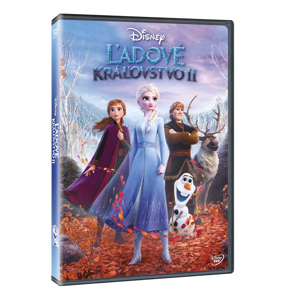 DVD rozprávka - Ľadové kráľovstvo 2 DVD (SK)