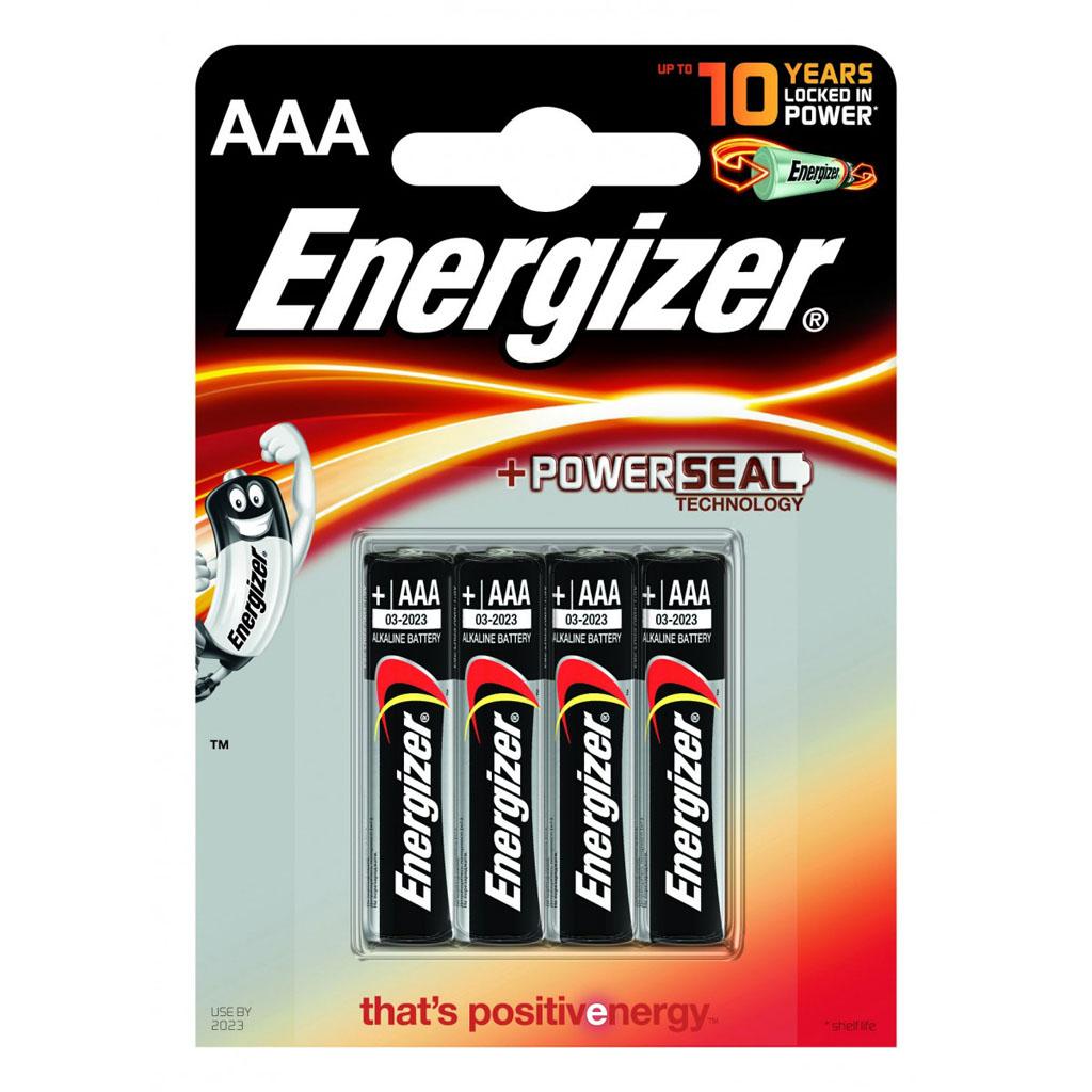 Energizer Batérie Micro AAA LR03 alkalické / 4 ks v blistri