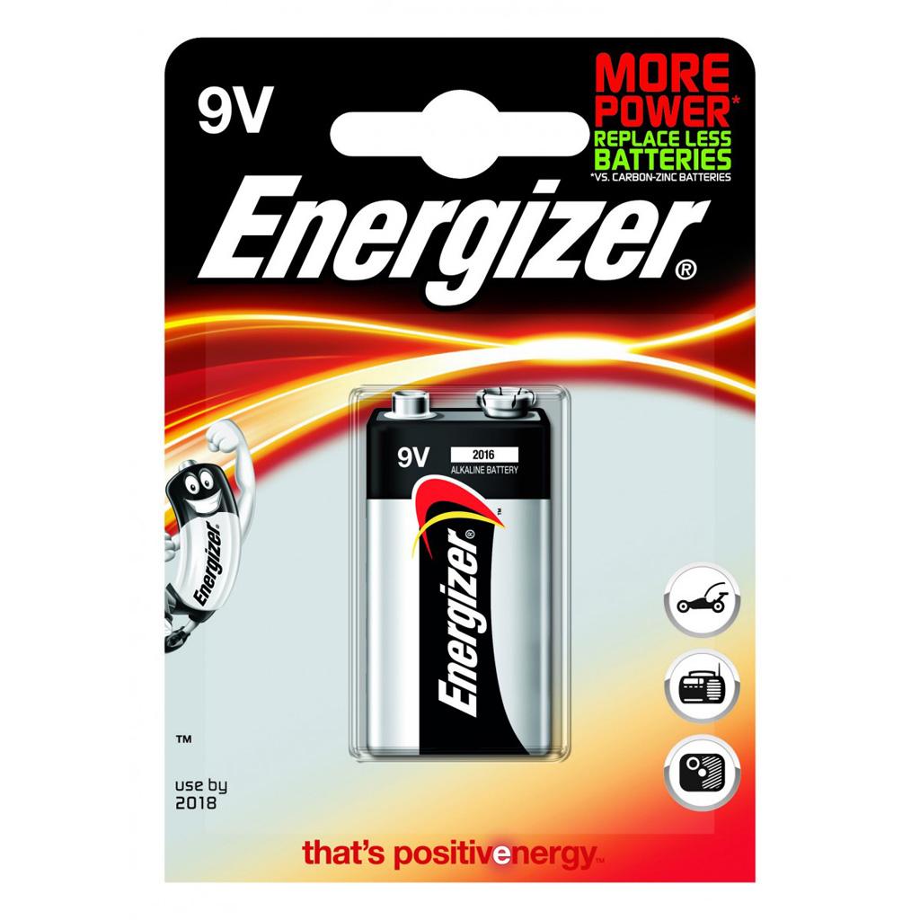 Energizer Base 9V batéria 6LR61 alkalická
