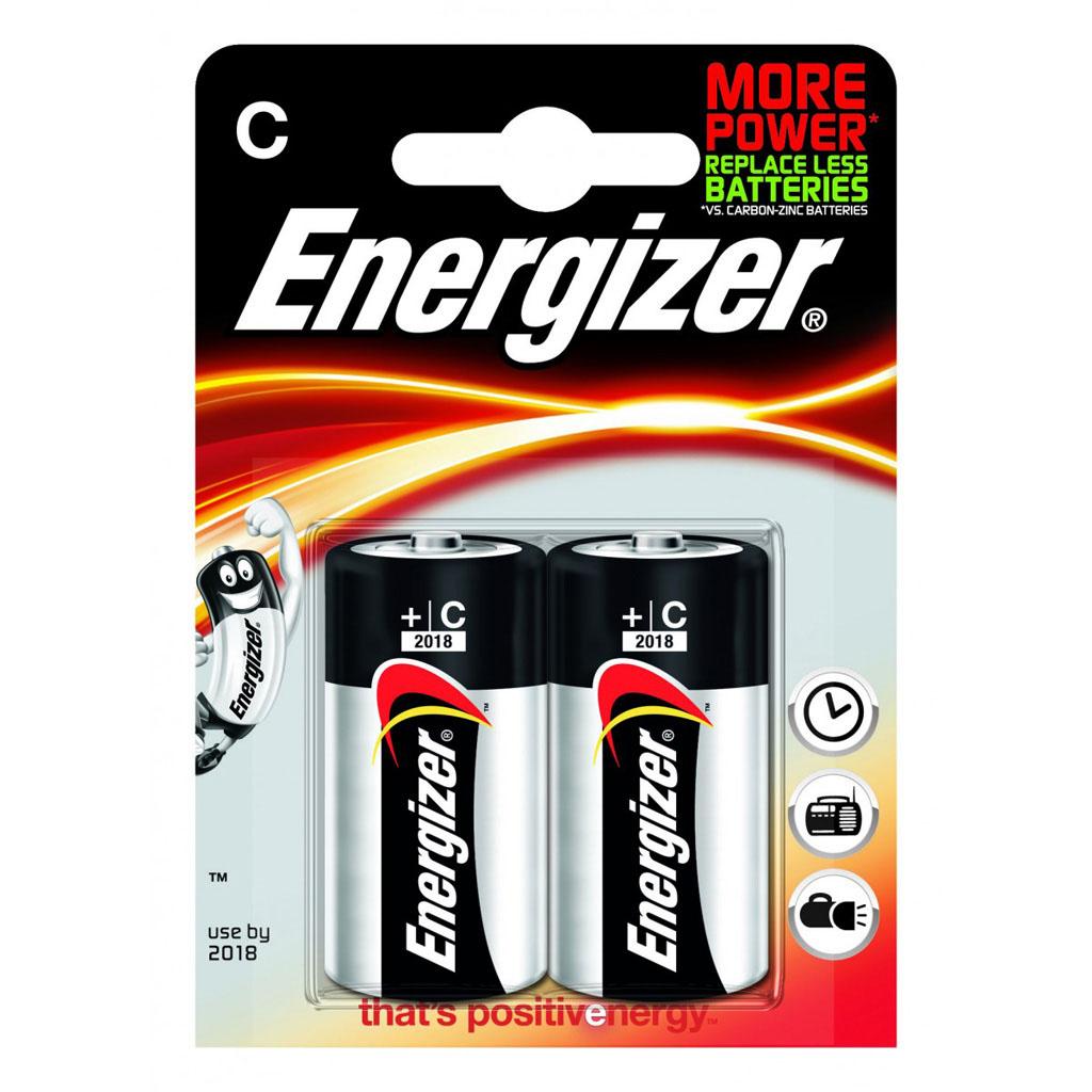 Energizer Base C/2 baby LR14 1,5 V alkalické/2ks v blistri