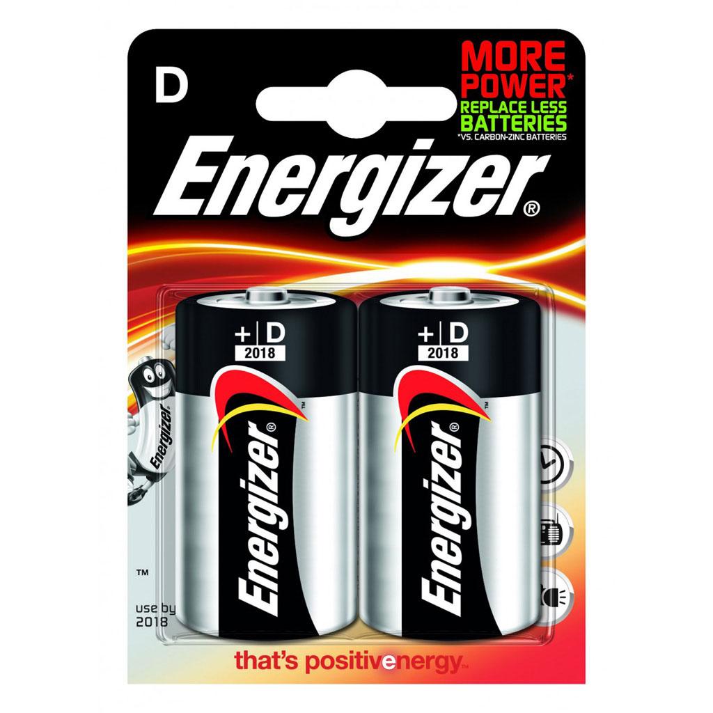 Energizer Base Veľký monočlánok D LR20/2 ks v blistri