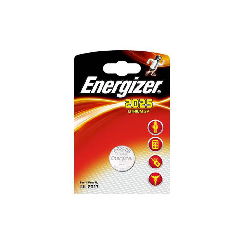 Energizer Gombíkové články CR2025 lítium/1 ks v blistri