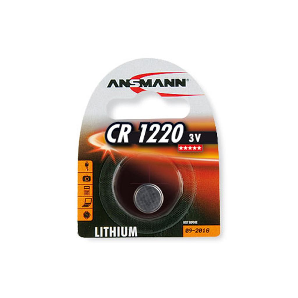 Ansmann Gombíkové články CR 1220 3V lítium