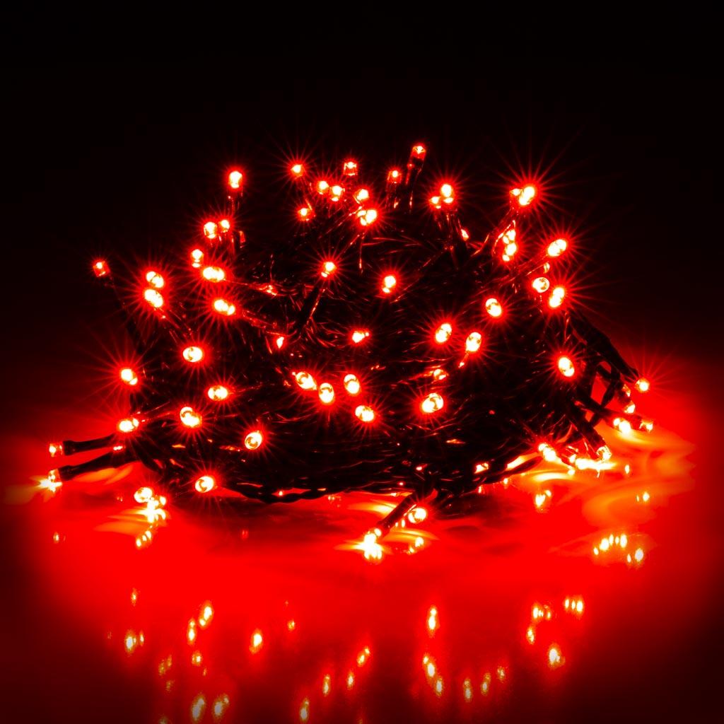 Žiarovky RXL 307, 150 LED, 15+5m, červené