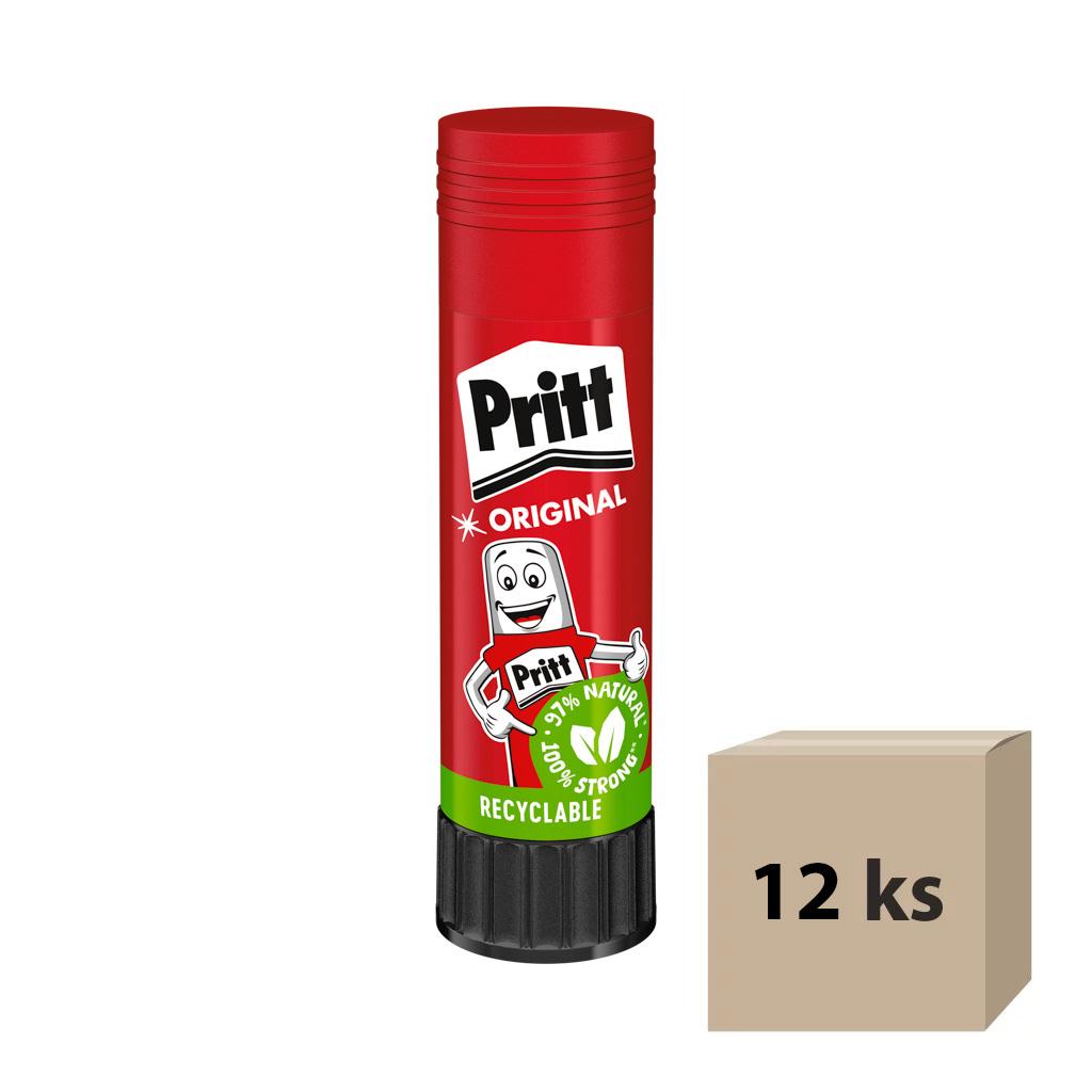 Lepidlo tyčinka Pritt Stick / 20 g, 12 ks