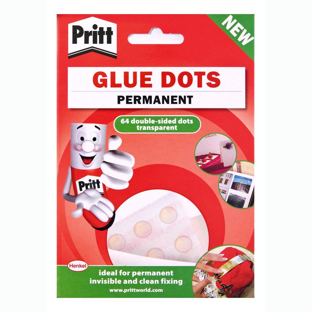 Pritt Glue Dots 64 bodiek, perm.