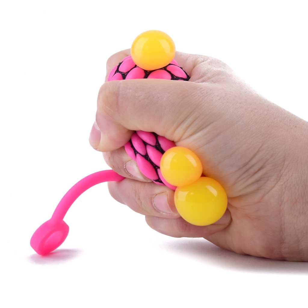 Antistresová stláčacia jojo loptička, 4,8cm
