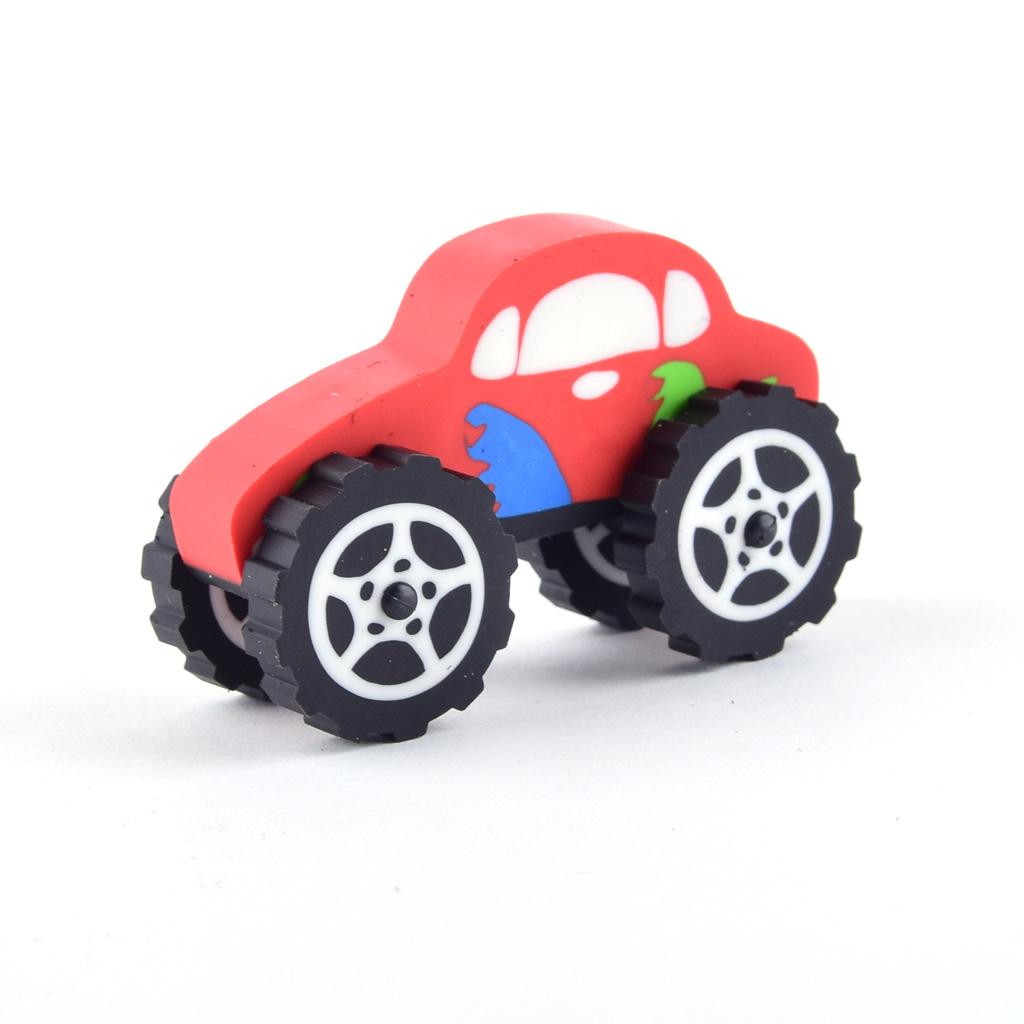 Guma - Monster autíčko, mix motívov